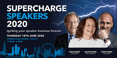 Supercharge Speakers 2020 tickets