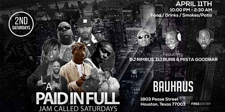 "A ""PAID IN FULL"" Jam Called Saturday's tickets"