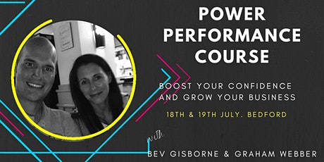 The Power Performance Course  - Hypnosis tickets