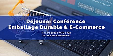 Déjeuner Conférence - Emballage Durable  & E-Commerce billets