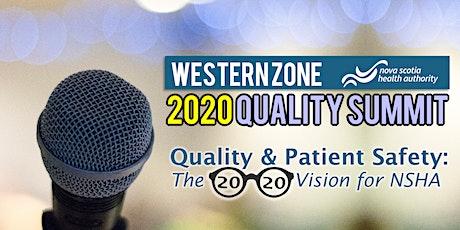 2020 Western Zone Quality Summit tickets