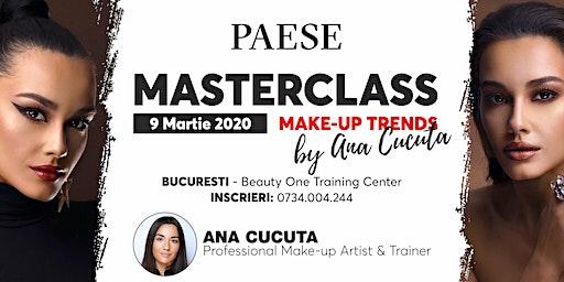 Masterclass Make-up Trends by Ana Cucuta