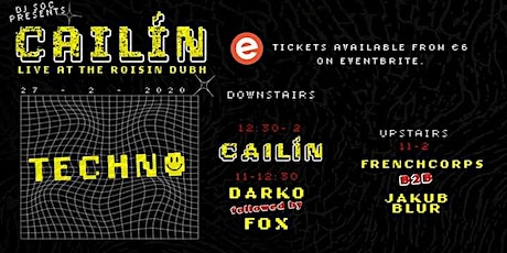 Cailin in the Roisin presented by DJ Society tickets