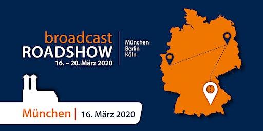 Broadcast Solutions MediaOnline Roadshow München
