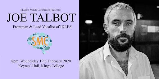 Joe Talbot of IDLES | Student Minds Cambridge