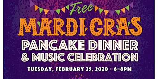 Mardi Gras Pancake Dinner & Live Music