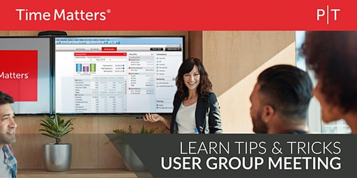 Time Matters® User Group Meeting & Luncheon - Los Angeles
