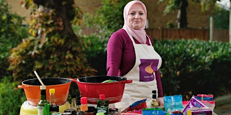CANCELLED - Vegetarian Syrian cookery class with Lina tickets
