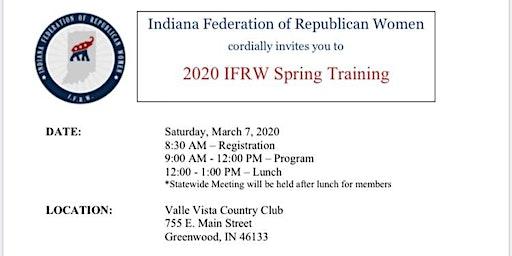 2020 IFRW Spring Training