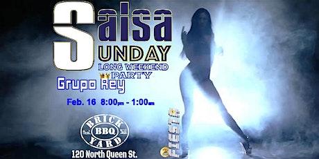 Long Weekend Fiesta! Grupo Rey, Latin DJ, Dancing Lesson and Dancing tickets