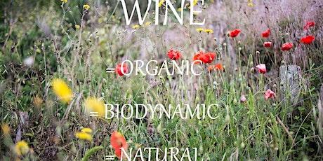 Frazier's Wine Tasting - Organic/Biodynamic/Natural Wines tickets