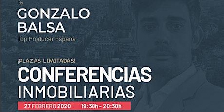 CONFERENCIAS INMOBILIARIAS BY GONZALO BALSA entradas
