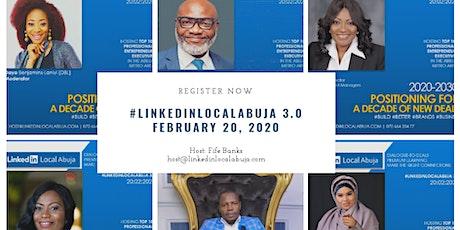 LinkedInLocalAbuja 3.0 tickets
