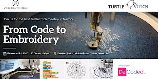 TurtleStitch Embroidery Community Meetup Nairobi