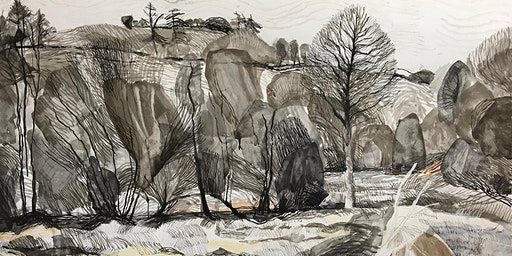 Eleri Mills 'Landscape: Real and Imagined' - opening day and meet the artists
