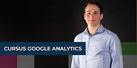 Cursus Google Analytics tickets