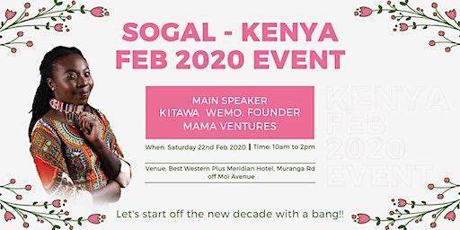 SOGAL KENYA FEB 2020 EVENT