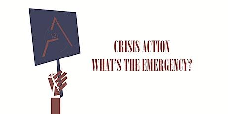 Crisis Action 8: Chris Leslie tickets