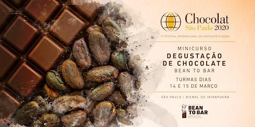Minicurso Degustação de Chocolate BTB   Chocolat Festival   São Paulo 2020