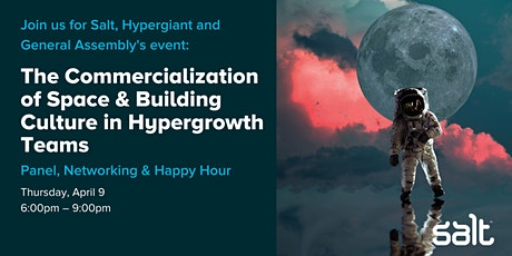 The Commercialization of Space & Building Culture in Hypergrowth Teams tickets