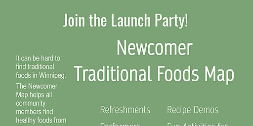 Newcomer Traditional Foods Map Launch