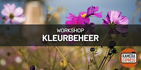 Workshop Kleurbeheer in Gent tickets