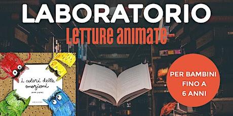 """Letture animate per bambini - Libro: """"I colori delle emozioni"""" biglietti"""