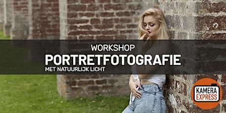 Workshop Portretfotografie met natuurlijk licht tickets