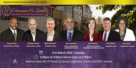 Entrepreneurs Are Leaders 31 March 2020 Evening tickets