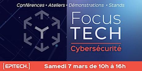 FocusTECH - Cybersécurité billets