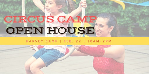 Circus Camp Open House