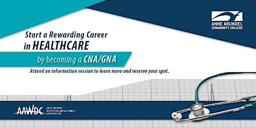 CNA/GNA Career Information Session