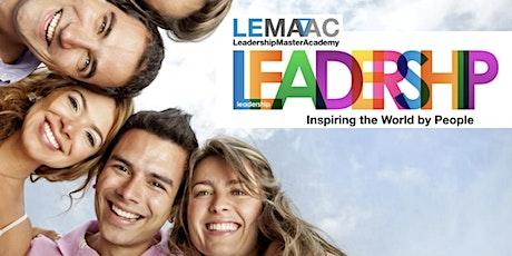 LEMAAC - Leadership Master Academy / A Liderança Inspiradora bilhetes