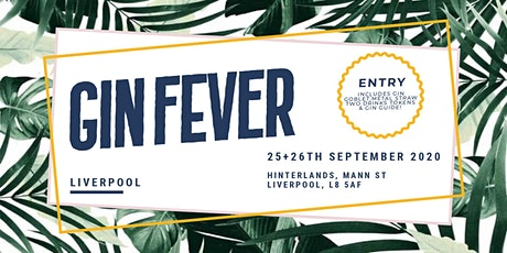GIN FEVER FESTIVAL - LIVERPOOL tickets