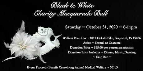 2020  Catnoir Black & White Charity Masquerade Ball tickets