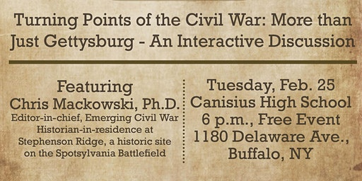 The Civil War at Canisius: Interactive roundtable