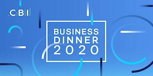 CBI Business Dinner - Teesside