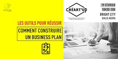 Comment construire un business plan avec Créartu