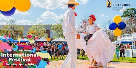 38th Annual UNC Greensboro International Festival tickets