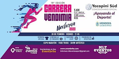CARRERA VENDIMIA NOCTURNA 2020 entradas