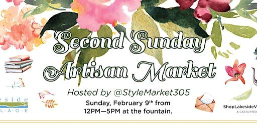 Second Sunday Artisan Market at Lakeside Village