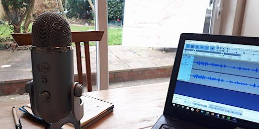 Workshop - Podcasting for Dummies / Gweithdy - Podledu i Ddymïau
