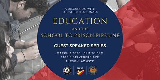 Guest Speaker Series: Education and the School to Prison Pipeline