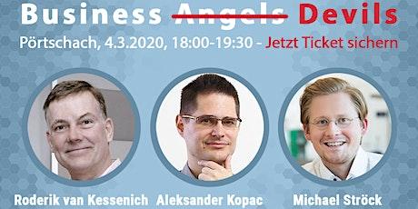 Launch Event: BusinessAngelBuch u. Business-Angel-Podium + Q&A (Pörtschach) Tickets