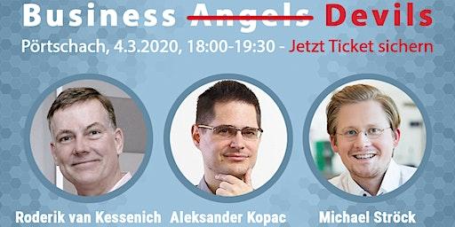 Launch Event: BusinessAngelBuch u. Business-Angel-Podium + Q&A (Pörtschach)