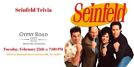 Seinfeld Trivia at Gypsy Road Brewing Company