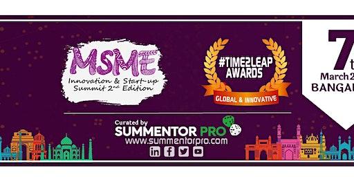 MSME INNOVATION & STARTUP SUMMIT 2ND EDITION