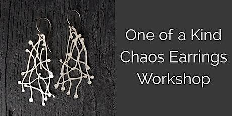 Chaos Earrings - Sterling Silver Fusing Workshop Jewellery Making Class tickets