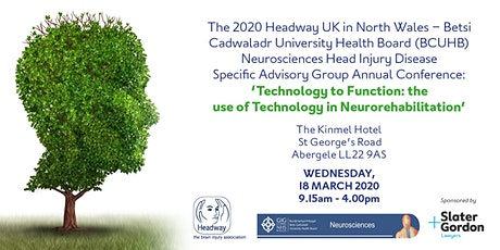 Headway 2020 Conference - The use of Technology in Neurorehabilitation tickets