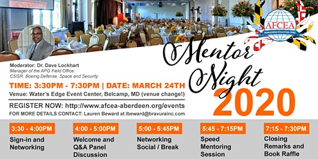5th Annual Young AFCEA Mentor Protege and Networking Night tickets